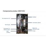 Centrala termica murala cu condensare Buderus Logamax plus GB072-24 V2 24-KW, incalzire