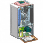 Centrala termica cu condensare Buderus Logamax Plus GB122 24 KH, incalzire+a.c.m.