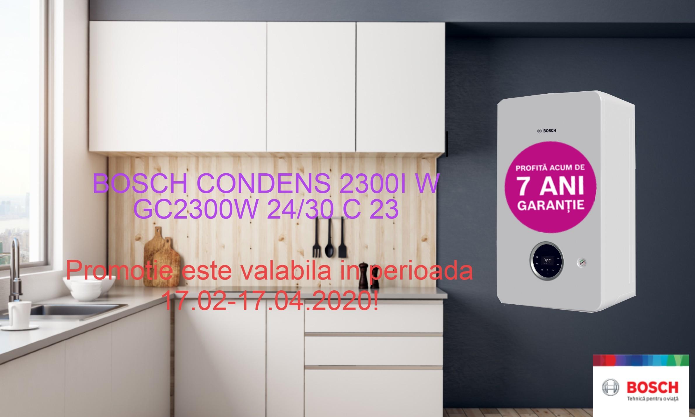 Promotie Bosch Condens 2300