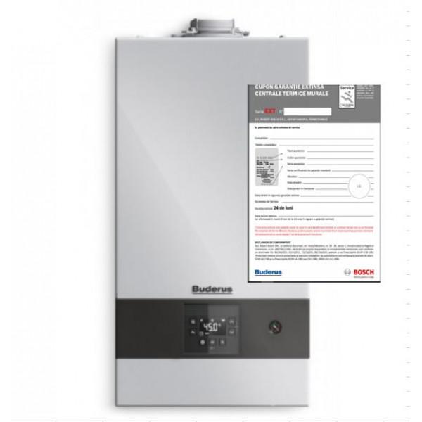 Pachet centrala termica cu condensare GB122-24 KD H+Kit de evacuare+Extragarantie 2 ani